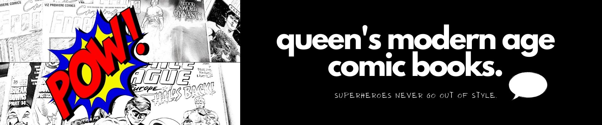 Queen's Modern Age Comic Books